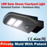 La Cina fabbrica la lista solare di prezzi dell'indicatore luminoso di via del LED per la lampada domestica del giardino