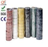 Bande électrique noire d'isolation de PVC avec le faisceau intérieur en plastique (0.15mm*19mm*10m)