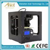 Stampante da tavolino 2017 di Anet Anet 3D con il produttore-fornitore acrilico della Cina della stampante del coperchio DIY 3D