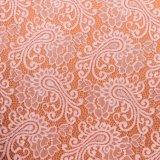 Ткань вышивки шнурка шнурка Organza химически, ткань конструкции вышивки, платье венчания, причудливый шнурок,