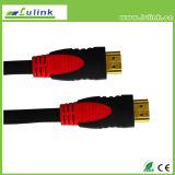 Cavo placcato oro del cavo HDMI del PVC HDMI del rame del cavo di HDMI