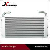 Refrigerador de petróleo de alumínio da máquina escavadora da placa da barra da confiabilidade elevada