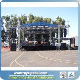 Braguero de aluminio de la espita de DJ para el braguero de la iluminación del funcionamiento de los acontecimientos