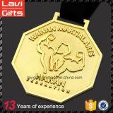 カスタムロシアの銀製のヒグマのスポーツの金属メダル