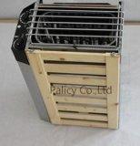 Chaufferette de sauna de la JM (matériau d'acier inoxydable)