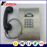 ステンレス鋼の金属ボタンの電話Knzd-07A緊急時の電話