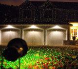 2017本の新しい屋外のクリスマスの祝祭の庭の星のレーザー光線のシャワーの装飾