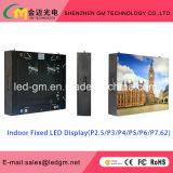 Visualizzazione di LED dell'interno all'ingrosso di visione di media di pubblicità di prezzi P4, offerta speciale, USD680
