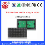 P10 extérieurs choisissent le panneau-réclame blanc d'écran de visualisation de module de DEL