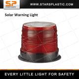Diodo emissor de luz que gira a luz de advertência solar para a segurança de tráfego
