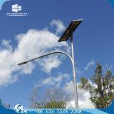 6m/7m/8m Palo galvanizzato Hot-DIP 3/4 di indicatore luminoso di via solare di riserva di giorno