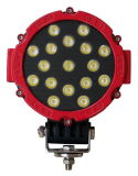 Precio barato de la pulgada 51W de la luz 7 del trabajo del LED