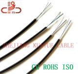 Cavo ottico dell'interno del calcolatore del cavo di comunicazione della rete di /Cable della fibra del collegare di goccia di FTTH