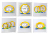 Cordon de connexion à plusieurs modes de fonctionnement uni-mode duplex recto de fibre optique de PC/Upc/APC Sc/LC/FC/St/Mu/MTRJ/E2000