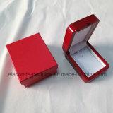Caja de embalaje de la joyería del regalo pendiente de madera del collar