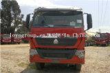 트럭 50 톤을%s HOWO T7h 8X4 덤프 트럭 트랙터