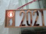 Reatil 수 모양 3D 금속에 의하여 그려지는 LED 채널 편지