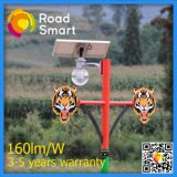 Integrierte angeschaltene LED-Solarstraßenlaterne mit Mikrowellen-Bewegungs-Fühler