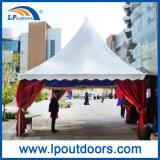 Weißes Belüftung-Stern-Form-Pagode-Zelt für Partei-Ereignis