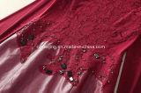 Vestito rosso dall'unità di elaborazione del `S delle donne di Restonic