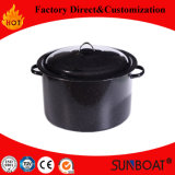Sunboat 7.5qt Enamel Stock Pot Enamel Stew Pot