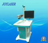 Grabado del laser de la insignia del metal de la fibra/máquina de la marca con buen precio