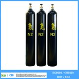 Cilindro de gás de hidrogênio sem costura 2016 de 40L ISO9809 / GB5099