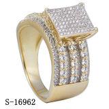 Venta al por mayor de imitación de la fábrica del anillo de la plata de la joyería de la nueva llegada