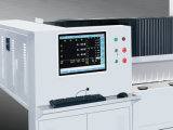 Máquina de polonês de vidro da borda do CNC da elevada precisão para o vidro eletrônico