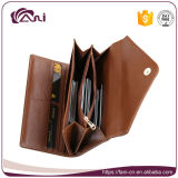 Повелительница Портмоне PU габарита кожаный, бумажник владельца карточки для того чтобы держать карточки деньг