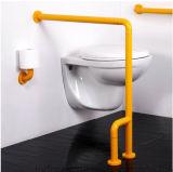 De stabiele Muur van de Veiligheid zette Nylon Toilet op onbruikbaar maakt de Sporen van de Greep