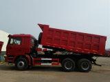 De Vrachtwagen van de Kipper van de Stortplaats van de Motor van Weichai van Shacman 6X4