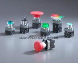 Dia22mm-La118kb 누름단추식 전쟁 스위치의, 빨강 및 녹색, 6V-380V 전압