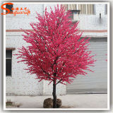 Artificial Flower Blossom Tree Cherry Fleur en plastique pour la décoration de mariage
