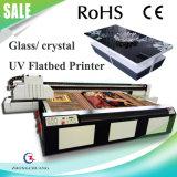 PU/Textiles/木またはガラス紫外線デジタル平面印字機プリンター