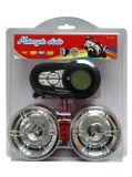 Motocicleta Bluetooth MP3 de 3 ruedas con el jugador de tarjeta del SD