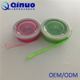 Haltbares Qualitäts-Silikon-Wasser-zusammenklappbares Cup