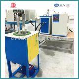 four à induction 100kg électrique de fréquence moyenne pour la fonte d'acier/fer/acier inoxydable/alliage d'en cuivre/d'aluminium