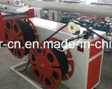 고품질 PP/PE/PVC는 기계를 만드는 벽에 의하여 주름을 잡은 관을 골라낸다
