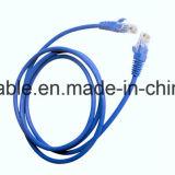 고품질 메신저와 가진 포일에 의하여 보호되는 FTP Cat5e 근거리 통신망 케이블
