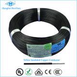 UL1213 Cable de alambre de Teflón aislado en cobre plateado