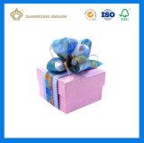 Rectángulos de empaquetado de la joyería del papel de imprenta del precio de fábrica para el regalo del día de tarjeta del día de San Valentín