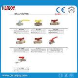 Qualitäts-leiten Messingkugelventil mit Hahn ab (NV-1081)