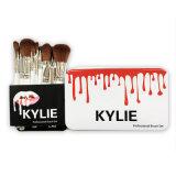 Profesional cosmético del cepillo de la sombra de ojo del estaño de Kylie de las herramientas del maquillaje cepillos fijados 12 pedazos del maquillaje