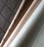 Ткань винила обруча Faux PVC синтетическая кожаный