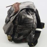 Sac à dos lavé de jeans pour l'accessoire de mode de sac à dos de toile de loisirs de femmes