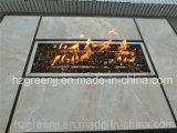 Мебель клуба штанги Weave ямы пожара напольная с керамической таблицей