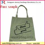 Umweltfreundlicher einfacher Entwurf mit Firmenzeichen gedruckten Förderung-Baumwolltote-Beutel-/Segeltuch-Handtaschen