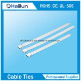 Ataduras de cables calientes del acero inoxidable del bloqueo de la bola de la venta