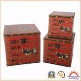 現在の記憶のための時代物の家具の装飾的なボックスそしてギフト用の箱